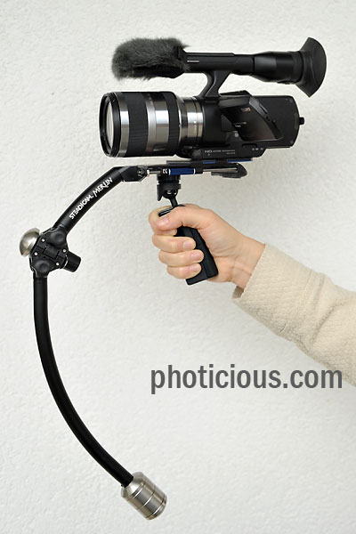 Sony VG10 Camcorder with Steadicam Merlin